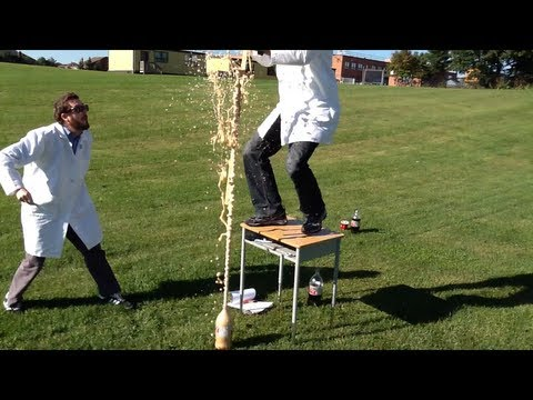 Episode 01 - Mentos & Diet Coke (Scientific Method Example)