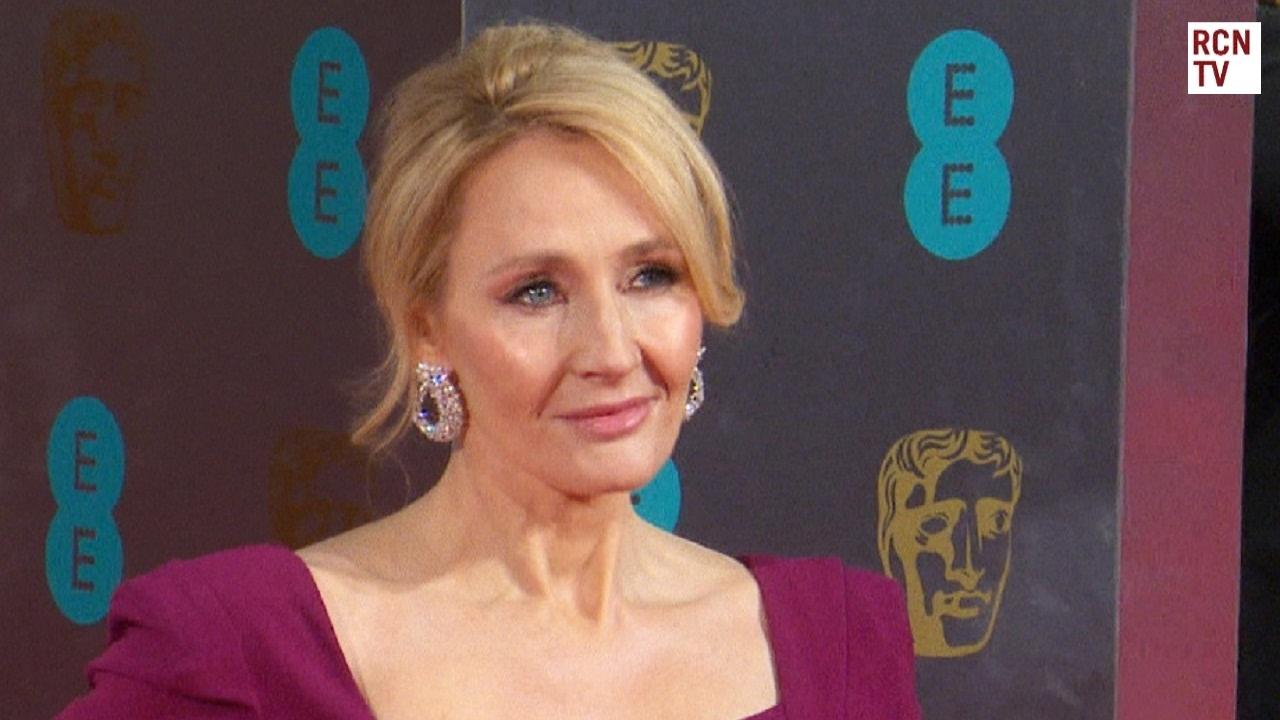Jk Rowling Bafta Film Awards 2017 Arrival Doovi