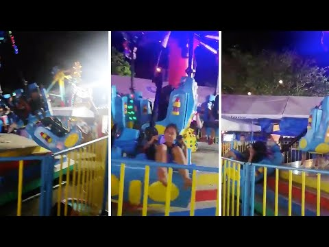 Alabama - Carnival Ride Breaks with People on It!