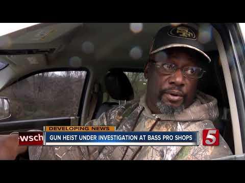 Handguns, Rifles And Ammo Stolen From Opry Mills Bass Pro Shops