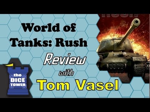 World of Tanks: Rush Review - with Tom Vasel