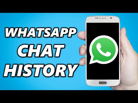 Whatsapp Chat History: How To Download Whatsapp Chat History!