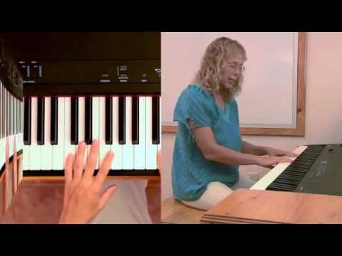 Twinkle Twinkle Little Star - piano lesson (chords)