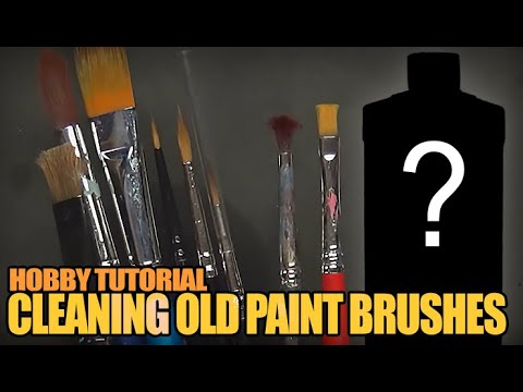 2 Secret Weapons For Cleaning Ruined Miniature Paint Brushes