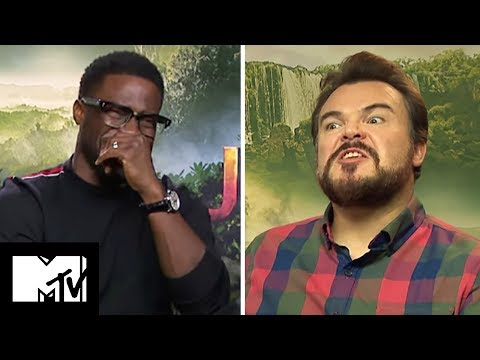 The Cast of Jumanji Reveal Their Favourite Video Games & Talk Red Dead Redemption 2  | MTV Movies