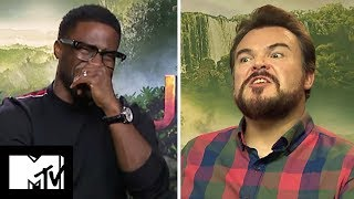 The Cast of Jumanji Reveal Their Favourite Video Games & Talk Red Dead Redemption 2    MTV Movies