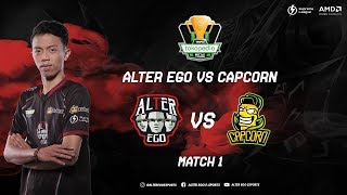 Alter Ego Vs Capcorn -  IESPL Match 1