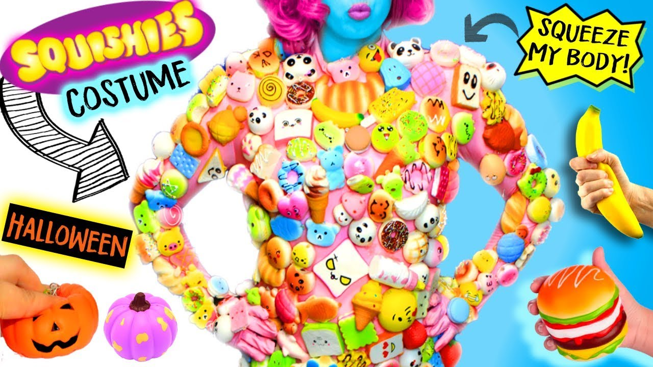 Halloween Costume 500.Full Body Of 500 Squishies Squeeze Me In This Interactive Stress Toy Halloween Costume