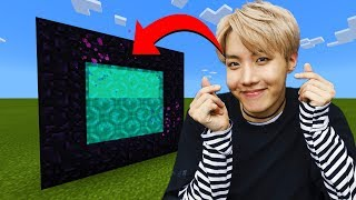 Download lagu How To Make A Portal To The BTS Dimension in Minecraft!