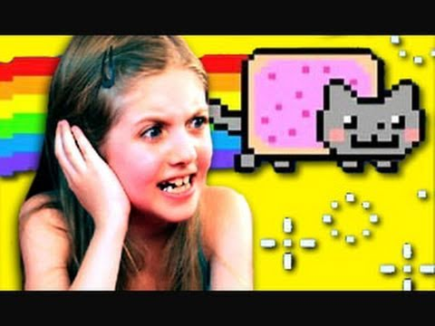 Thumbnail: KIDS REACT TO NYAN CAT