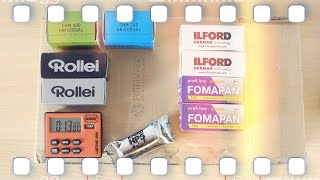 Fotoimpex analog Rollfilm Unboxing 🎞 Flanell, Kameras & Film