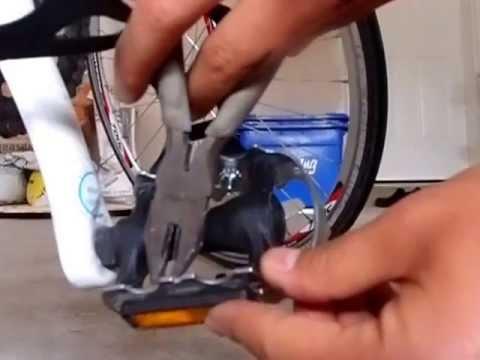Mec Wellgo Plastic Toe Clips Installation Youtube