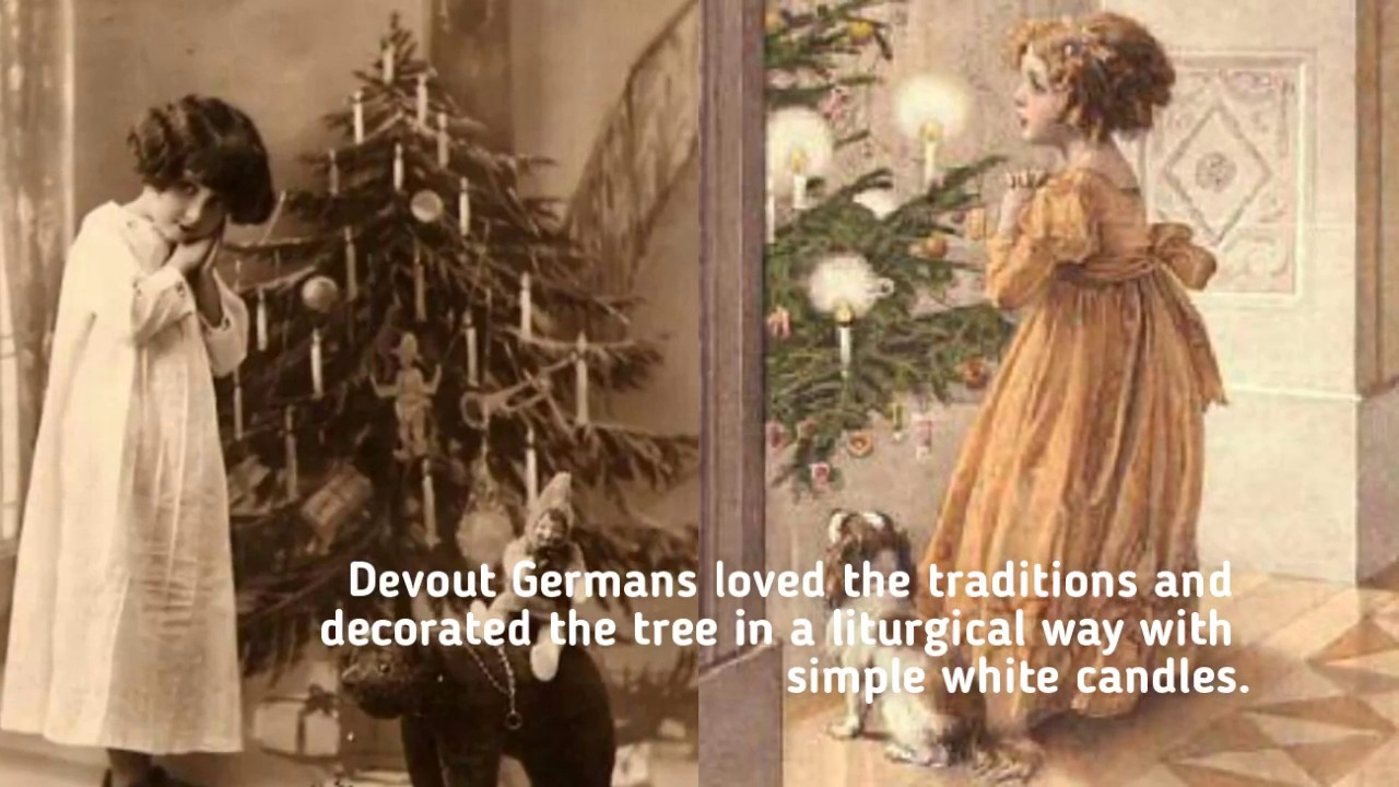 The History of the Christmas Tree and Ornaments - YouTube