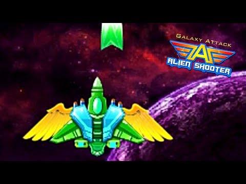 Галактика атака пришельцев шутер #1 Galaxy Attack Of The Aliens Shooter Game