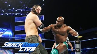 Apollo Crews vs. Baron Corbin: SmackDown LIVE, Sept. 20, 2016