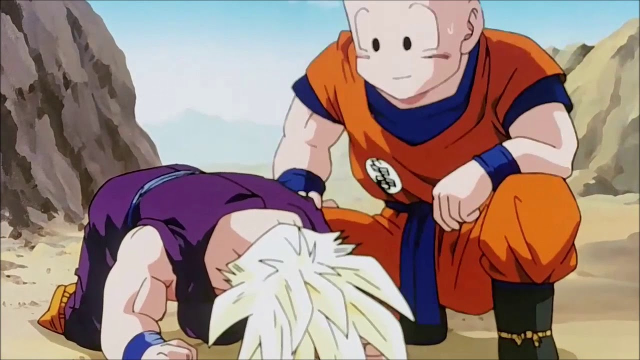 Gohan cries after Goku does his sacrifice|Sad DBZ Moment|Z Dub