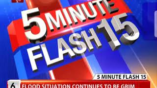 Top 15 news in 5 minutes @ 8:55 am