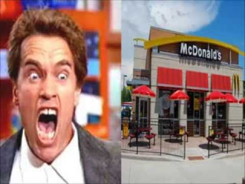 Arnold Schwarzenegger Calls Walmart, McDonald's, and Subway (Soundboard pranks)