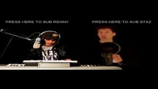 Pitbull Feat. Danny Mercer - Outta Nowhere LIVE COVER by Staz & Renny McLean prod. Marks Barton