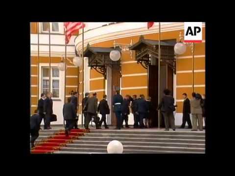 RUSSIA: MOSCOW: YELTSIN/CLINTON SUMMIT LATEST (2)