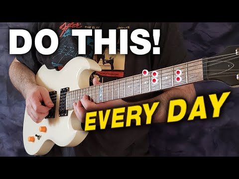 Do This Every Single Day for PERFECT Guitar Playing!
