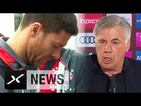 Carlo Ancelotti über Xabi Alonso, Marco Verratti und Paul Clement | FC Bayern
