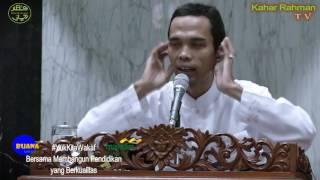 TATA CARA WUDU - Ust. Abdul Somad #TanyaJawabUstadz (eps3)