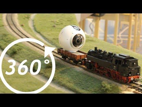 FREMO- Danehill (England) 360 Degree Train Ride