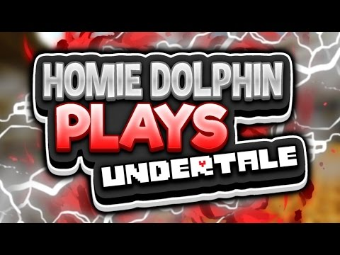 Homie Dolphin Hangs out with papyrus????