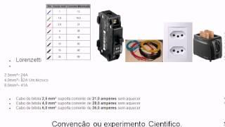 13 - Cálculo Disjuntor e cabo. - Curso de Eletrônica