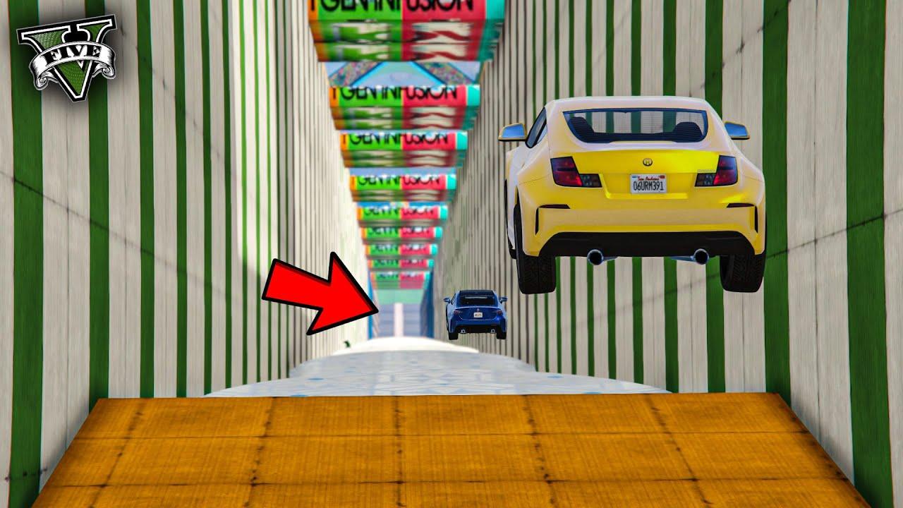 قراند 5 | طيحة 🔥 تنافس كبير على المركز الاول 🔥 | GTA 5 Parkour