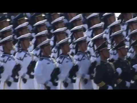 Chinese Military Parade Hell March 2009 - HD