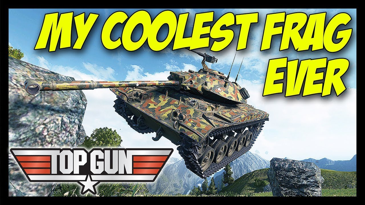 ► My Coolest Frag Ever - Top Gun Edition! - World of Tanks T49 & FV4202