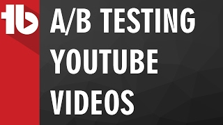 A/B Testing YouTube Videos with TubeBuddy
