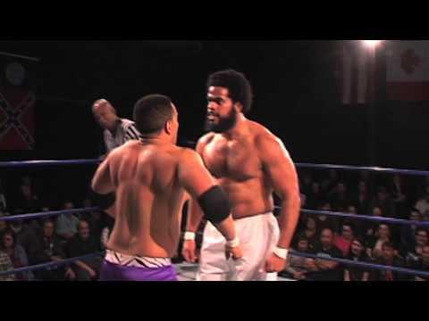 CWF MidAtlantic Wrestling: Manny Garcia WWE's No Way Jose vs. TV Champion Chris Lea 122714