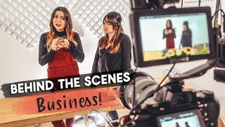 Behind the Scenes | BUSINESS TRIP!