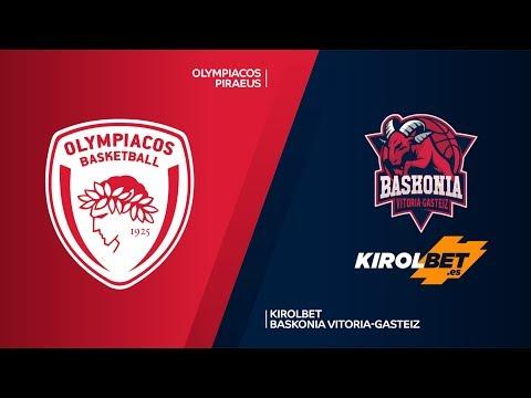Olympiacos Piraeus - KIROLBET Baskonia Vitoria-Gasteiz Highlights | EuroLeague RS Round 17