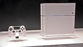 White PS4 + New Controllers (E3 2014)