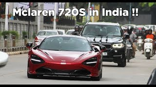 Mclaren 720S Flybys and Acceleration | Part 2 | India | Bangalore | #167