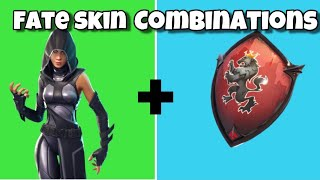 "5 BEST ""FATE"" SKIN + BACKBLING COMBOS (Fortnite Skin + Backbling Combos)"