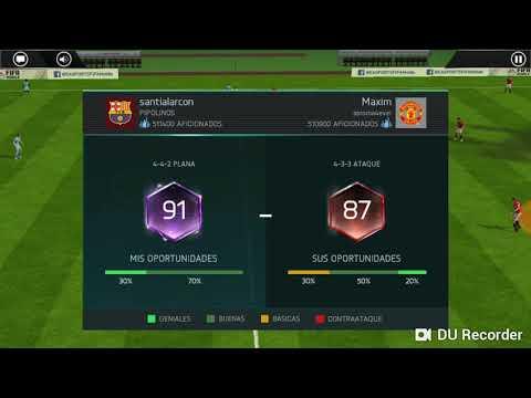 Un poco de FIFA mobile | Santi Alarcón 06