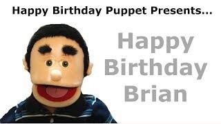 Funny Happy Birthday Brian - Birthday Song