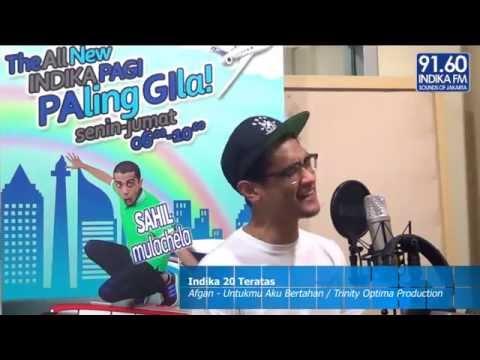 INDIKA FM - 2O TERATAS - Afgan Syahreza