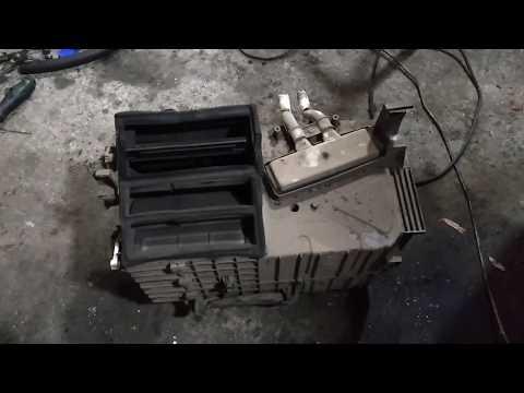 Замена радиатора печки со снятием торпедо хюндай н200
