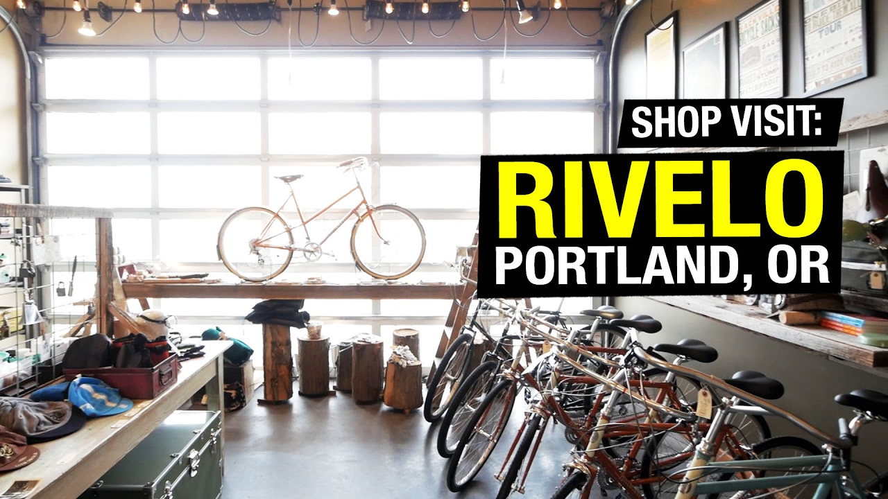 Visiting Rivelo Bike Shop in Portland, Oregon - YouTube