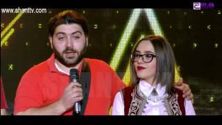 X-Factor4 Armenia-2nd Gala Show-THE STEPS BAND/Sari lala 26.02.2017