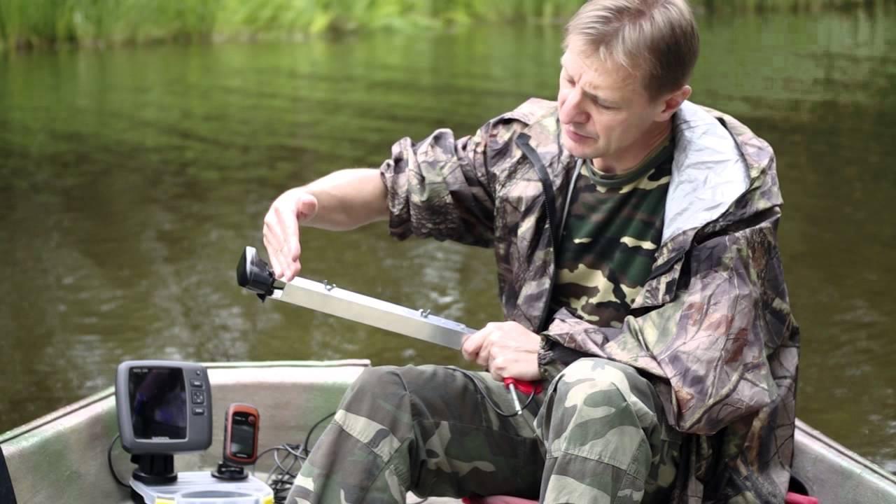 эхолот для рыбаков видео