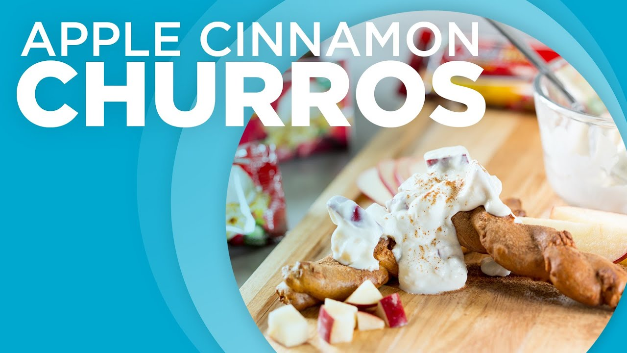 Cooking Clean with Quest - Apple Cinnamon Churros - YouTube