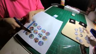 Sealing paper and Epoxy stickers