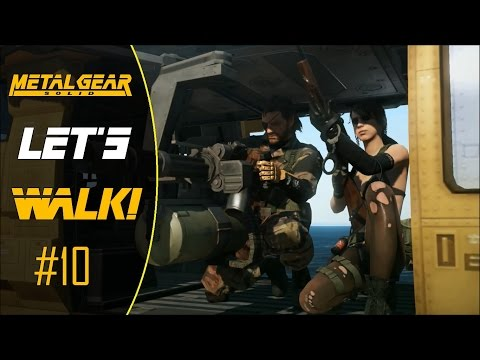 Let's Walk - Metal Gear Solid 5: The Phantom Pain Part 10: A Quiet Sniper